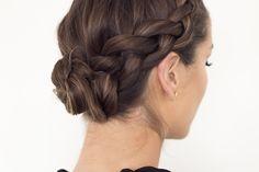 Slik lager du bunadsflette til Beauty Makeup, Hair Beauty, Mousse, Hair Styles, Costume, Nails, Clothes, Fashion, Hair Plait Styles
