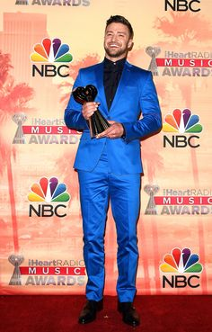 Justin Timberlake bei den iHeartRadio Music Awards in Los Angeles