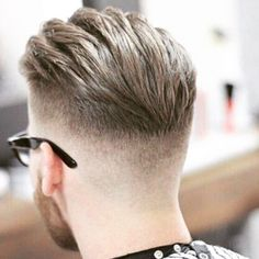 25 Amazing Mens Fade Hairstyles – Page 21 of 25 – Hairstyles & Haircuts for Men & Women – Part 21 25 Awesome pictures of men with the fade hairstyle! Ideas for shaved sides hairstyles. – Part 21 - Colorful Toupee Hairs Hairstyles Haircuts, Haircuts For Men, Haircut Men, Latest Hairstyles, Hair And Beard Styles, Short Hair Styles, Hair Toupee, Mens Hairstyles Fade, Hair Trends