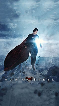 Man of Steel iPhone 5 wallpaper