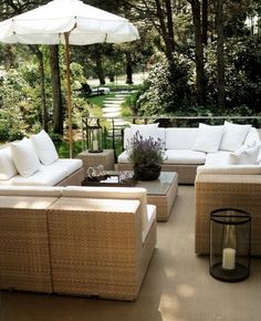 Dream outdoor living space...