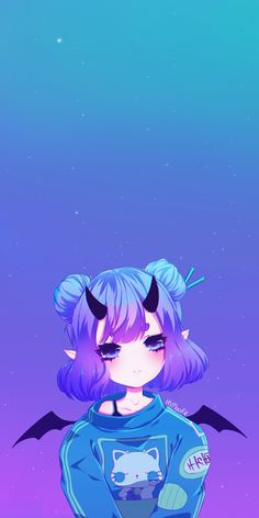 Best Ideas For Wallpaper Anime Girl Cute Emo Anime Girl, Chica Anime Manga, Anime Neko, Manga Kawaii, Kawaii Anime Girl, Kawaii Art, Anime Girl Drawings, Cute Drawings, Anime Shop