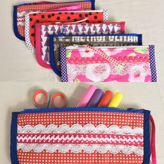 Pencil cases Pencil Cases, Sewing, How To Make, Bags, Handbags, Couture, Fabric Sewing, Totes, Lv Bags