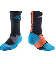 cb3de176c3ac Nike SX4814-048 KD Hyper Elite Basketball Mens Crew Socks Size XL 12-15