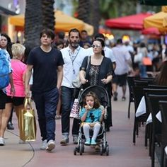 Singer Laura Pausini and family seen in Miami