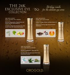OROGOLD 24K Exclusive Eye Care Collection