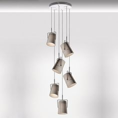 Diesel Collection Fork Piccola Round Multipoint Pendant