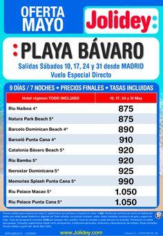 Oferta Mayo Playa Bávaro desde 875€ Tax incl. Salidas Sábados 10, 17, 24 y 31 de Mayo ultimo minuto - http://zocotours.com/oferta-mayo-playa-bavaro-desde-875e-tax-incl-salidas-sabados-10-17-24-y-31-de-mayo-ultimo-minuto/