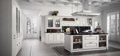 Verona kitchen from Arredo 3 Modern Country, Verona, Kitchen Island, Kitchen Design, Table, Furniture, Home Decor, Dinners, Kitchens