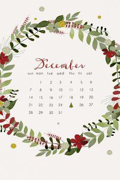 december calendar More