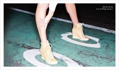 See by Chloe's Lace Up Wedge Sneakers - this can't be messed around.