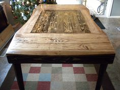 table made from pallets-nice