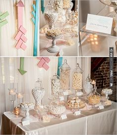 arrow candy table | VIA #WEDDINGPINS.NET