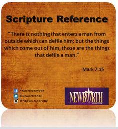 Mark 7:15