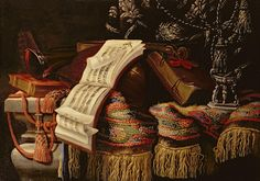 Still Life With A Book Of Sheet Music by Francesco Fieravino Still Life Art, Life Design, Art Pages, The World's Greatest, Kilim Rugs, Be Still, Fashion Art, Fine Art America, My Arts