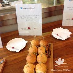 #ExperienceCDNbeef Chef House, Milk Bun, August 20, Toronto, Place Card Holders, Food, Meal, Essen, Eten
