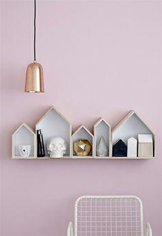 Bloomingville lamp koper