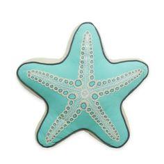 Newport Starfish Shaped Throw Pillow - BedBathandBeyond.com