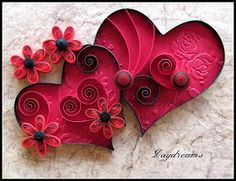 102 Best Quilling Valentine S Day Images On Pinterest In 2018