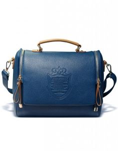 Royal blue handbags for women