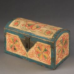 Compass Artist Storage Box, Lancaster County PA, Late 18th Century | InCollect