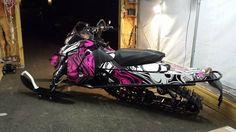 Ski do pink wrap