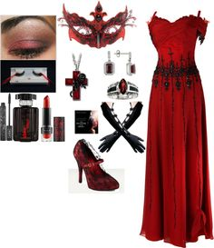 """Masquerade Ball"" by pinupgirlholly1 on Polyvore"