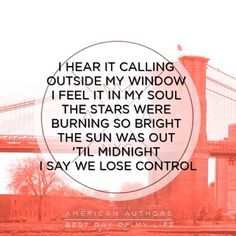 Day 21 - Song you listen to when you're happy - Best Day Of My Life by American Authors.