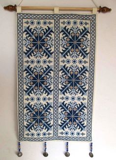 The cross stitch embroidery is fully handmade by Bedouin women.
