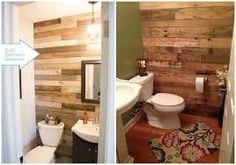 Znalezione obrazy dla zapytania estante para baño con palet