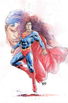 Superman - Ivan Reis. In many ways Hercules and Superman are similar. The most obvious is their abnormal strength but also they both are known for preforming noble deeds.