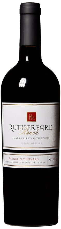 2010 Rutherford Ranch Franklin Vineyard Cabernet Sauvignon. Good wine full body
