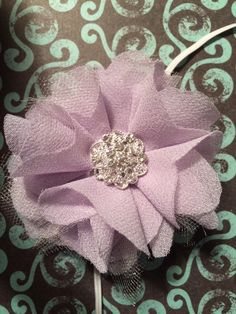 A personal favorite from my Etsy shop https://www.etsy.com/listing/245853774/frosted-lavender-headband-with-gorgeous