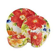 Amelia dinnerware. ¡De flores!