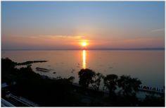 Sunset, Siofok, the Gold Coast - Lake Balaton, Hungary