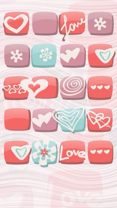 Hearts for Your Wallpaper