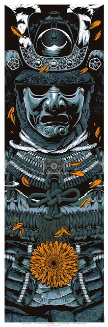 INSIDE THE ROCK POSTER FRAME BLOG: Anthony Petrie Warrior's Dreams Prints Blue Metall...