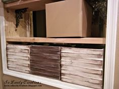 """""""Build"""" Your Own Cool Storage Boxes With Shims and Cardboard DIY - http://www.diyscoop.com/build-your-own-cool-storage-boxes-with-shims-and-cardboard-diy/"""