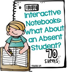 Interactive Notebooks: What About an Absent Student?