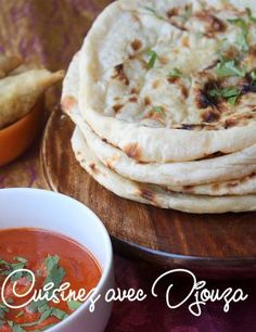 Naan pain indien recette Indiana, Bread Kitchen, Asian Recipes, Ethnic Recipes, Chapati, Camping Meals, Beignets, Nom Nom, Brunch