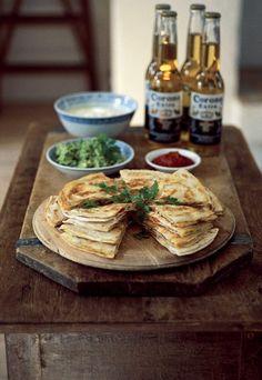 Raw Food Recipes, Veggie Recipes, Vegetarian Recipes, Cooking Recipes, Healthy Recipes, Quesadillas, Enjoy Your Meal, Plat Simple, Good Food
