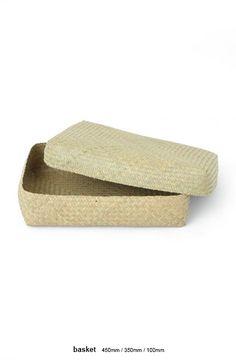 Shallow Baskets | [ Jurgen Lehl ] Online Shop