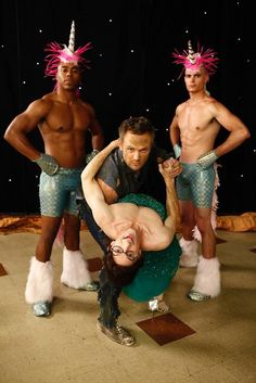 The Dean + Sexy Unicorn Go-Go Dancers = Exceptional New Community Pic