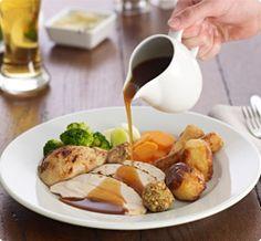 Image result for roast dinner Roast Dinner, Image, Food, Meal, Eten, Meals