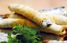 Cheese Cigars with Beet Greens (R'kakat bel-jebneh)
