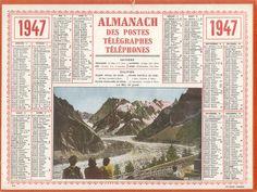 Almanach des Postes 1947