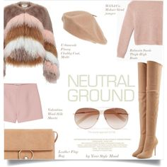 Neutral vibe Outfit Idea 2017