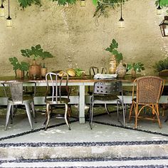 Forgo the Matching Set - Before and After Patio Makeover - Southern Living