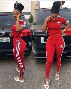 Here is Red Adidas Outfit Picture for you. Red Adidas Outfit adidas originals firebird track top in scarlet red 3 stripe tracksuit Sporty Outfits, Dope Outfits, Swag Outfits, Summer Outfits, Girl Outfits, Fashion Outfits, Adidas Outfits For Women, Cute Addidas Outfits, Hipster Outfits