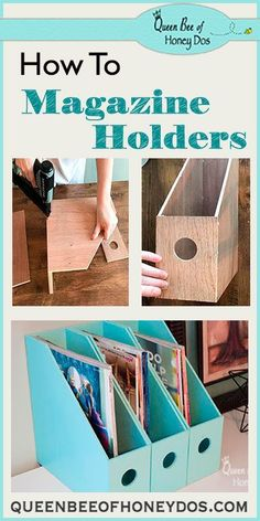 How To Make Magazine Holders 2019 How To Make Magazine Holders Get your office or home organized with this easy and simple to build woodworking project! The post How To Make Magazine Holders 2019 appeared first on Woodworking ideas. Woodworking Projects That Sell, Woodworking Classes, Popular Woodworking, Woodworking Jigs, Diy Wood Projects, Wood Crafts, Woodworking Furniture, Wood Furniture, Woodworking Inspiration